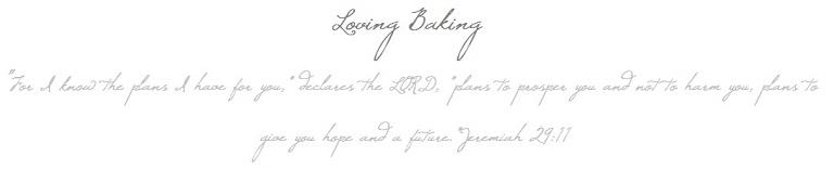 loving baking