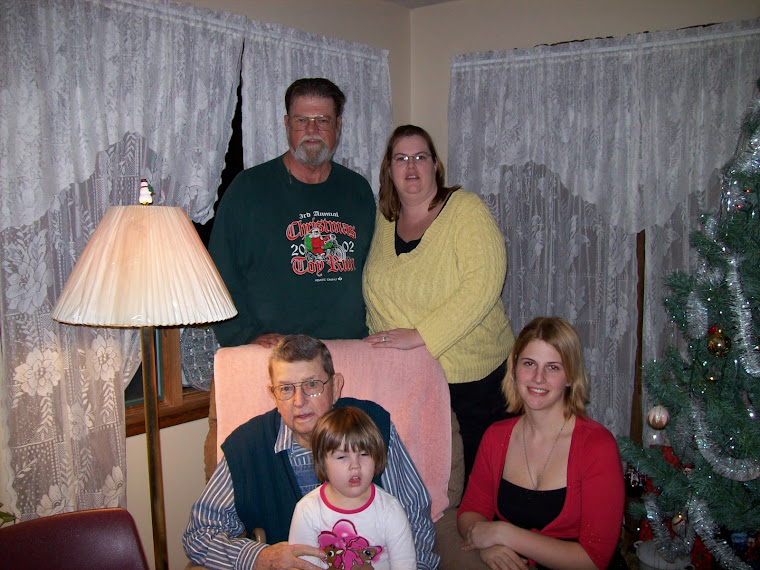 Five Generations of Niemeirs, Christmas 2008, Ft. Scott, Kansas