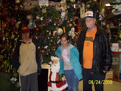 Mitch, Suzanne, Santa and Gil