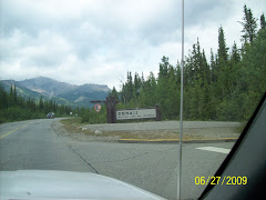 Entering Denali National Park