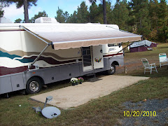 Our RV camping site