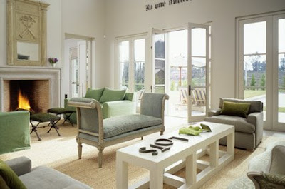 Site Blogspot  Country Style Living Room Sets on Her Living Room Is Big Open And Bright What A