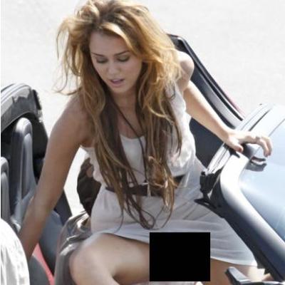 Foto de Miley Cyrus sin ropa ropa interior