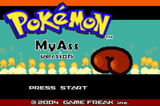 [Hack Rom] Pokémon My Ass Introduction