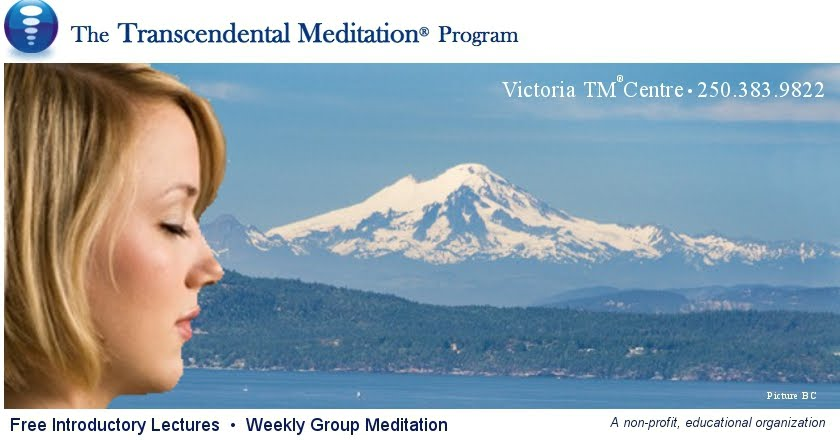 "Learn to Meditate Effectively  Transcendental Meditation [""TM""] Program  Victoria"