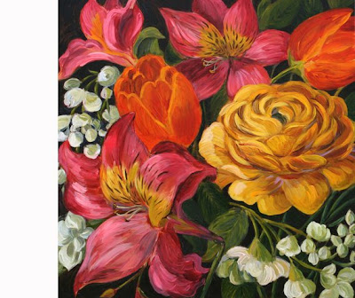 Online paintings acrylic canvas painting easy to paint for Canvas to paint on