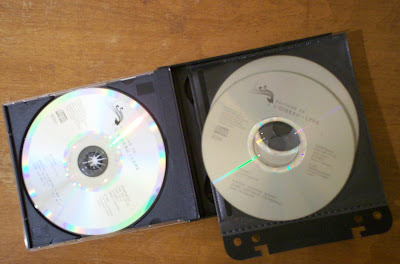 Original and backup copies of CD