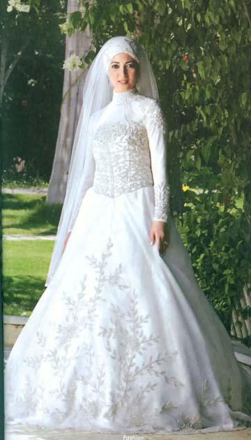 Turkish Wedding Dress 27 Unique Islamic Dresses with Hijab