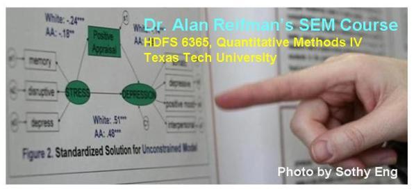Dr. Alan Reifman's SEM Course