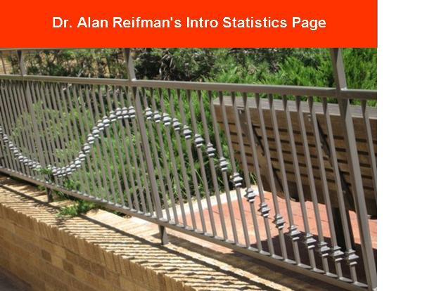Dr. Alan Reifman&#39;s Intro Stats Page