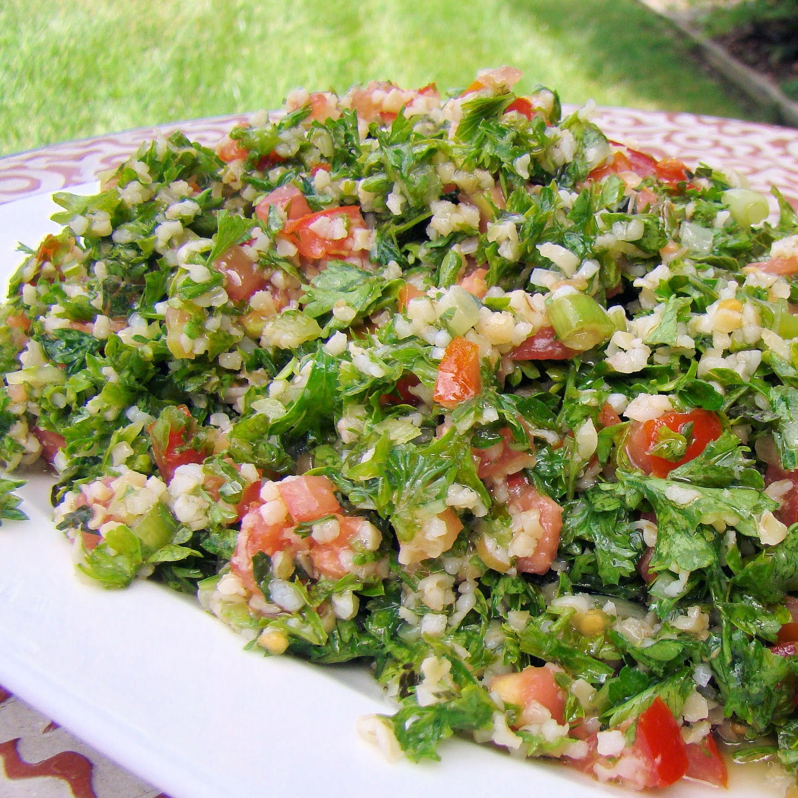 Savoir Faire: Tabouleh: The Quintessential Middle East Salad