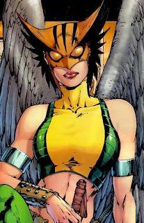 LA LIGA DE LA JUSTICIA Hawkgirl
