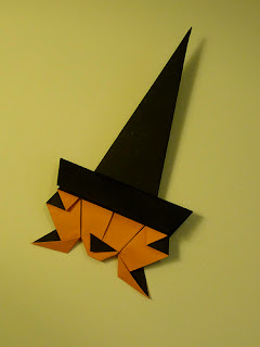 Halloween Origami: Crooked Witch