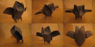 Halloween Origami Owl for Experts
