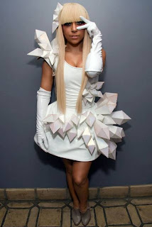 Lady Gaga's Dress - Origami Crystals (Part 1/2)