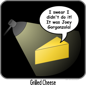 Griled Cheese T-shirts