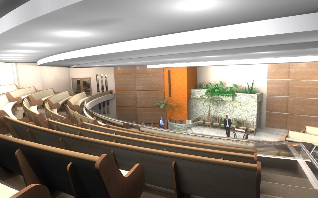 3D HeeS: Projetos 3D Casa Sobrado Fachada de Empresa 3D Reforma de  #B05F1B 1280 800
