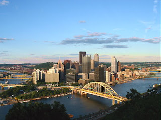 Pittsburgh skyline movies being filmed in Pittsburgh