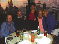 Susan, Dan, Teri, Billie and Jack at dinner