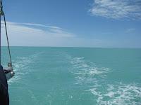 Leaving Key West's Northwest Channel