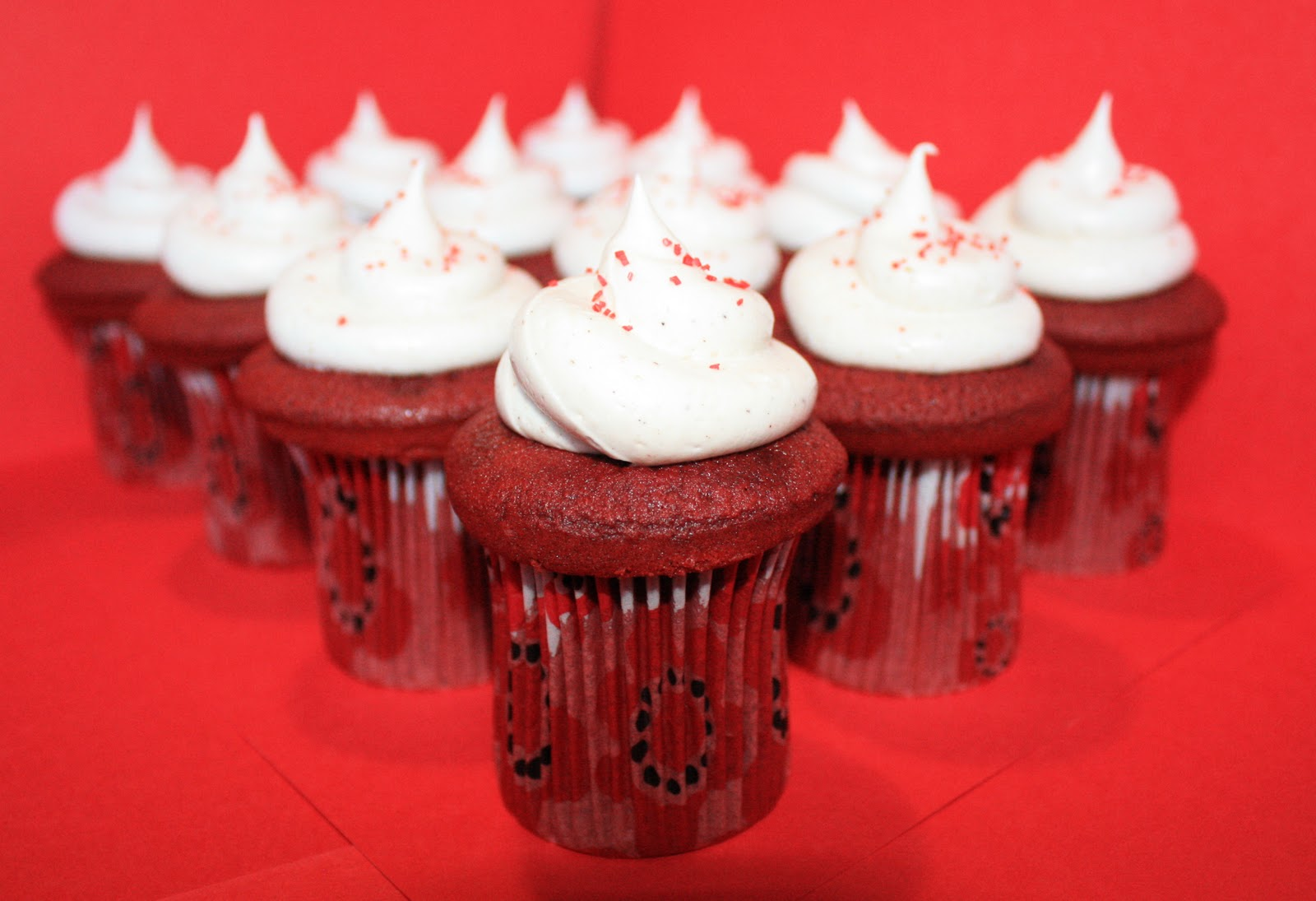 Cupcakes Take The Cake: Super Tall Red Velvet Cupcakes