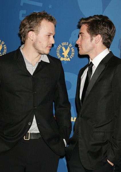 Wet Dark and Wild  Jake Gyllenhaal on how Heath Ledger always    Jake Gyllenhaal And Heath Ledger Love Scene