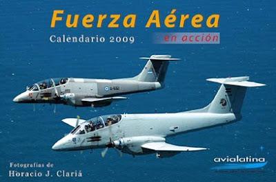 Calendario 2009 Fuerzas Aéreas en acción