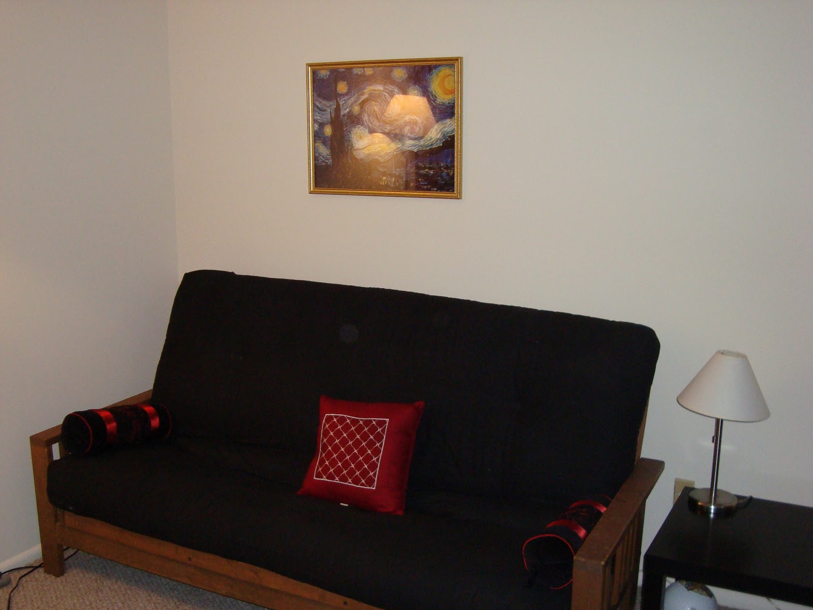 This Is Our Futon We Really Dont Use It But Brought It Along Just Via