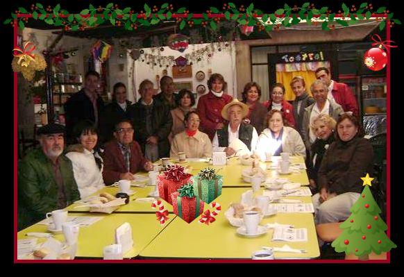 CONVIVIO DE NAVIDAD 2008