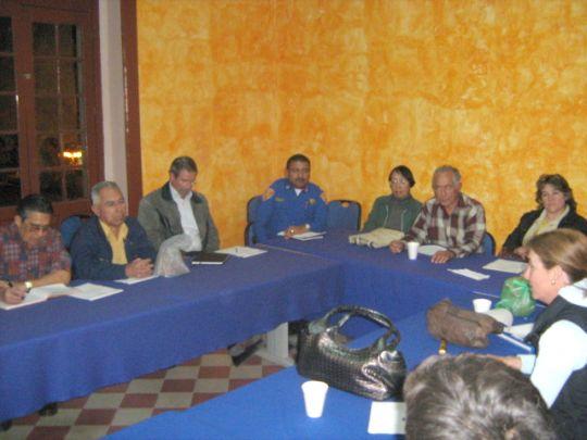 REUNION ENERO-09 CON EL ARQ JOSE PEREZ HERMOSILLO