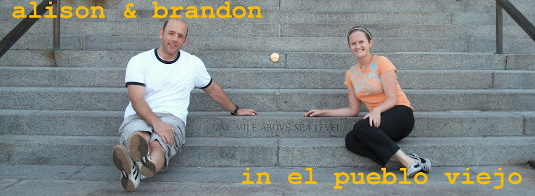 Alison and Brandon in El Pueblo Viejo