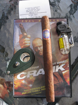 tatuaje miami gran cojonu. and here's the cigar along with the tools I'm using to enjoy itnot
