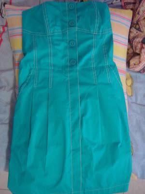 Vestido Tulipa Azul Duplo Sentido