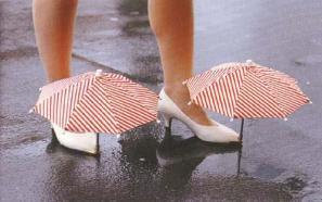Guada Chuva Criativo para sapatos