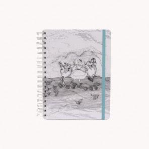 Caderno Alice no país das Maravilhas