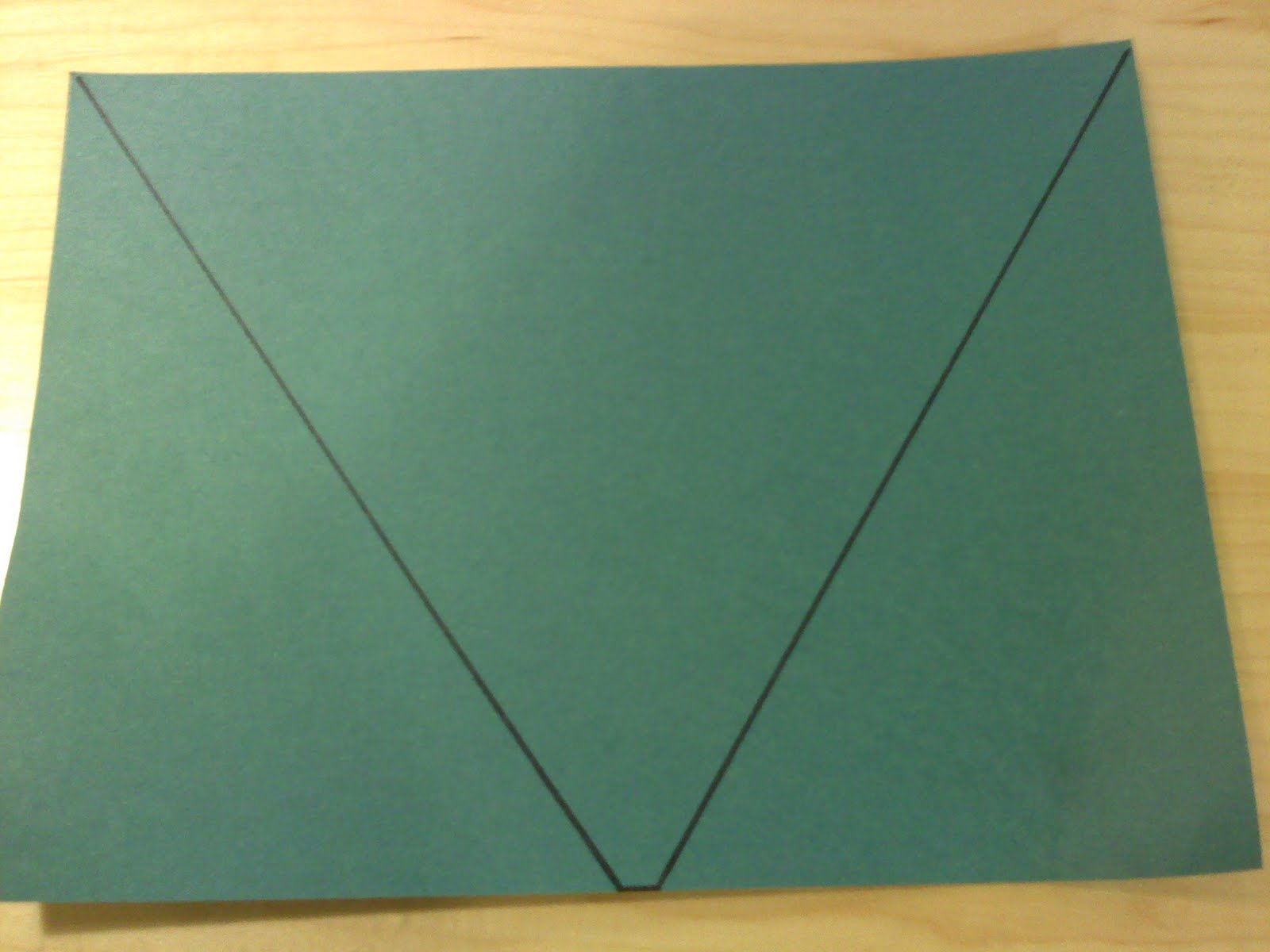 how to make a cone out of construction paper