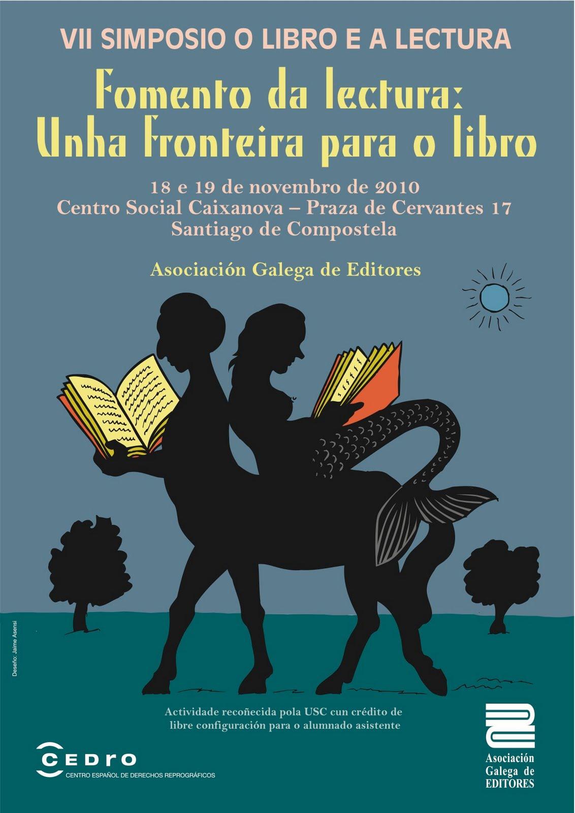VII Simposio o libro e a lectura