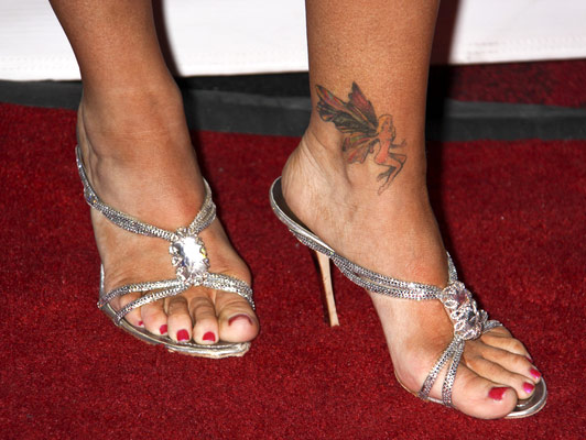 Celebrity tattoo on ankle - Tattoos Book - 65.000 Tattoos ...