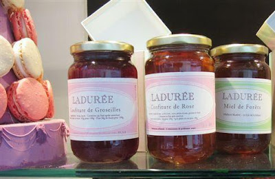 Laduree confiture - Paris Breakfasts