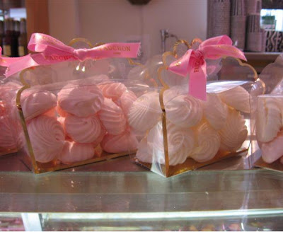 Fauchon pink meringues