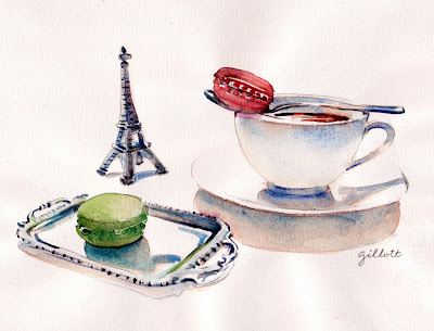 Dollhouse Silver Tray - L'Ile Flottante - Paris