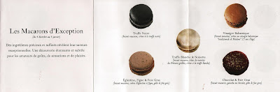 Pierre Herme Macaron Map
