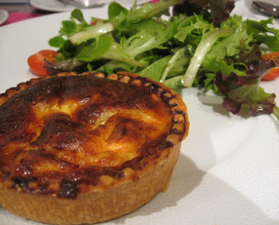 Dalloyau Quiche - Paris Breakfasts