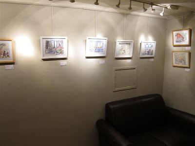 Chelsea Arts Club exhibit