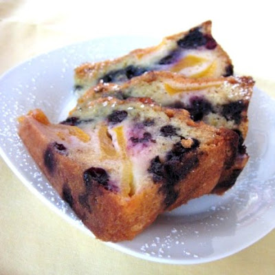 Peach and Blueberry Cake
