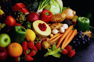Leafy Green Vegetables and Fruits