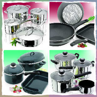 Kitchen Utensils: Pots and Pans