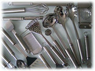 Stainless Kitchen Utensils - Kitchen Wares