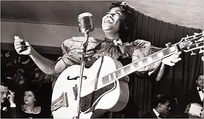 Sister Rosetta Tharpe, Holly Blues Sisterrosetta