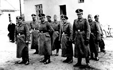 Nazi guards at Belzec death camp in occupied Poland in 1942